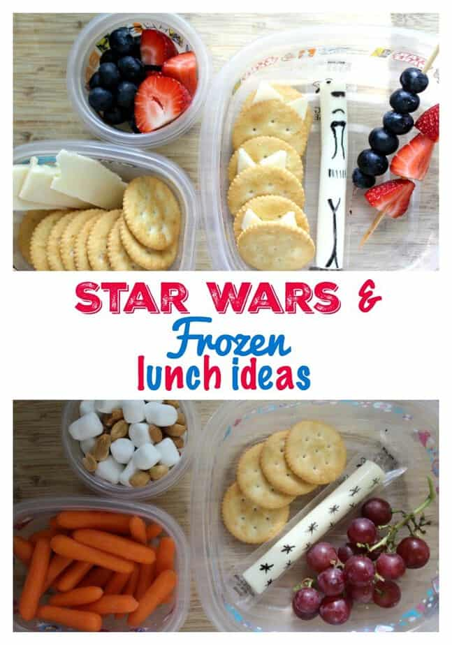 Star Wars & Frozen Lunch Ideas (ThisMamaLoves Blog)