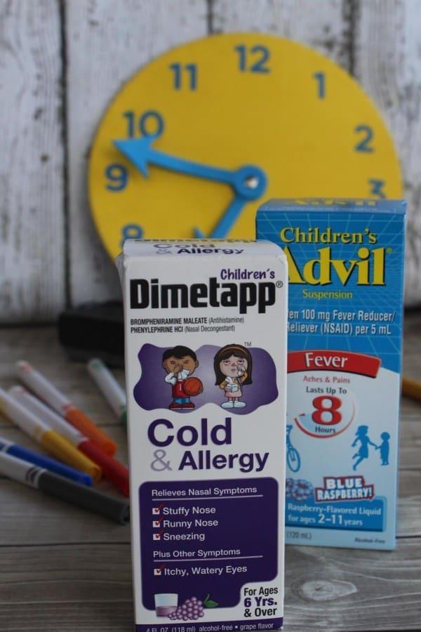 back to school dimetapp advil