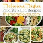 Delicious Dishes Recipes Link Party 29: Salads - This Mama Loves