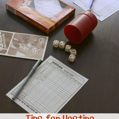 Tips for Hosting Family Game Night #HowLifeUnfolds
