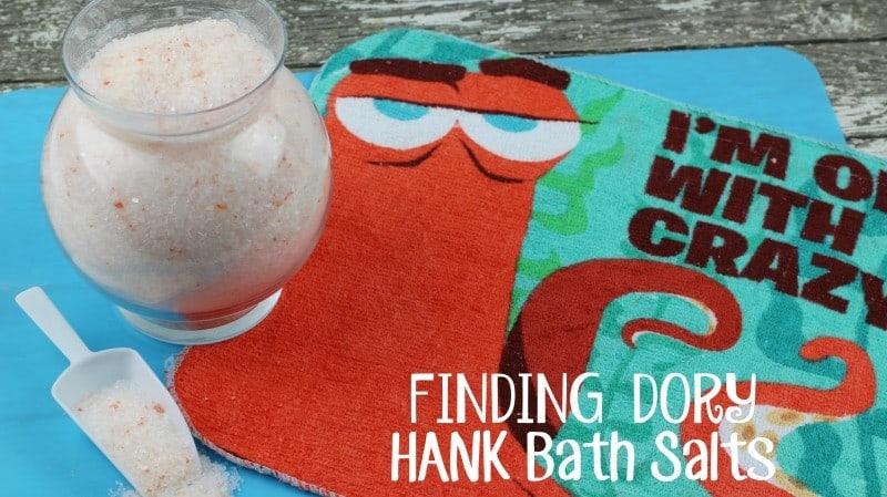Finding Dory Hank Bath Salts DIY - This Mama Loves