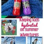 keeping kids hydrated on summer adventures hero