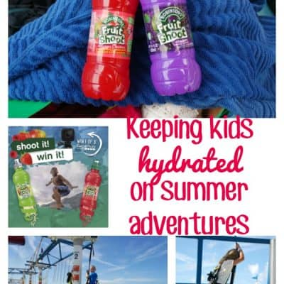 Keeping kids hydrated during summer adventures #FruitShoot