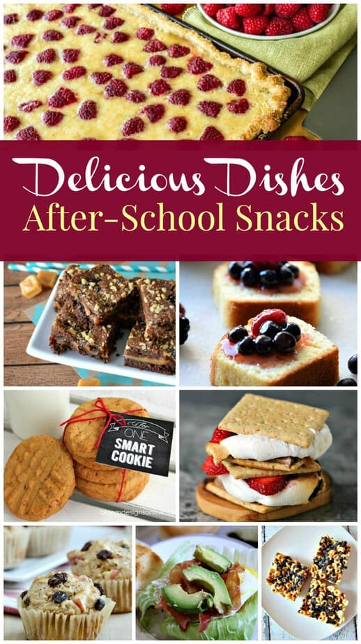 Delicious Dishes - After school snacks