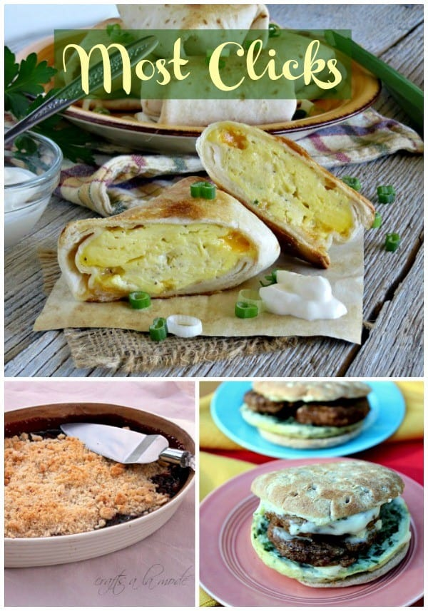 Most Clicks from Delicious Dishes Recipe Party #32