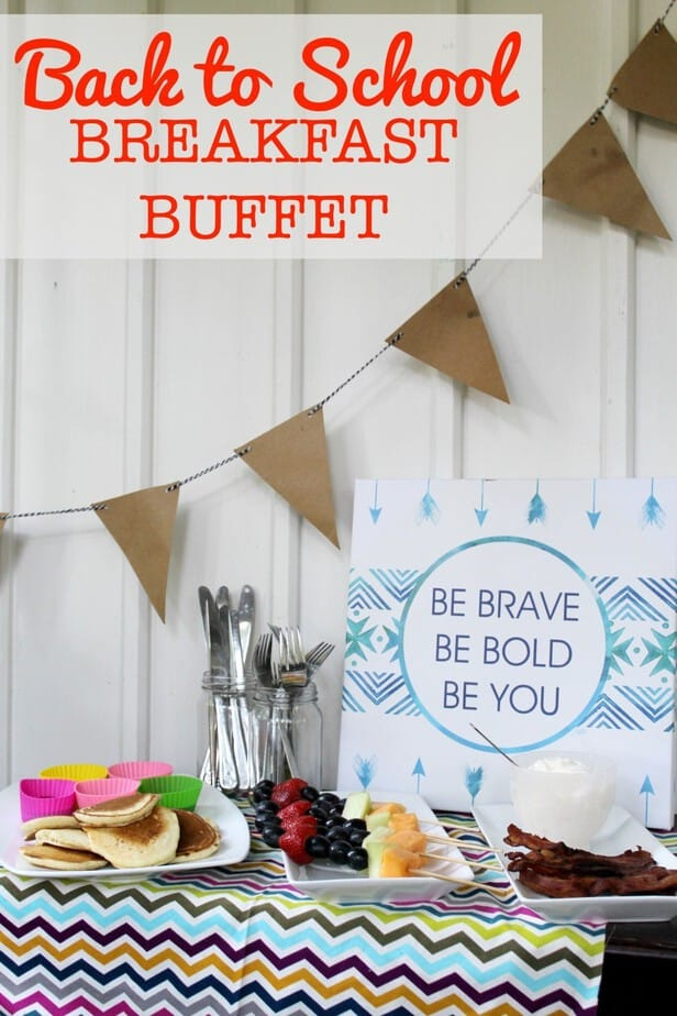 Back To School Breakfast Buffet Ideas Happy National