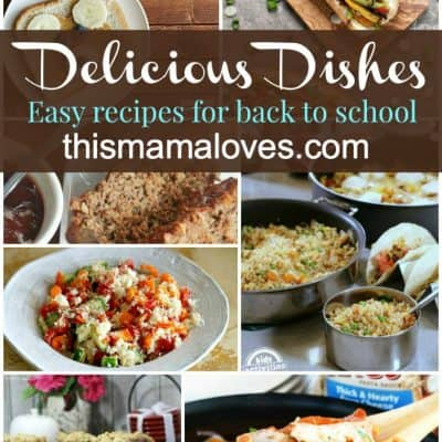 Delicious Dishes Recipes Party: Back to School