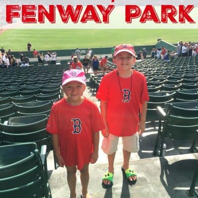 First Trip to Fenway with the Kids