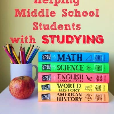 Helping Middle School Students with Studying