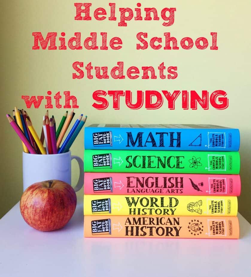 Helping Middle School Students with Studying- This Mama Loves