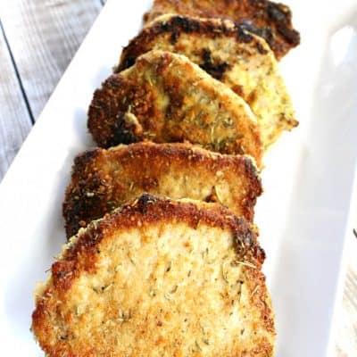 Mustard Rosemary Pork Chops