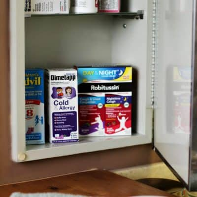 Starting Fresh with a Medicine Cabinet in a New Home