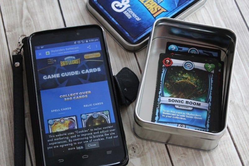 skylanders battlecast app