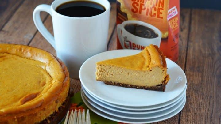 Pumpkin Spice Cheesecake Recipe