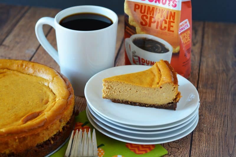 Pumpkin Spice Cheesecake Recipe | This Mama Loves