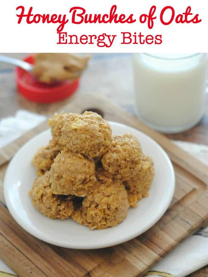 Honey Bunches of Oats Energy Bites Recipe (This Mama Loves)