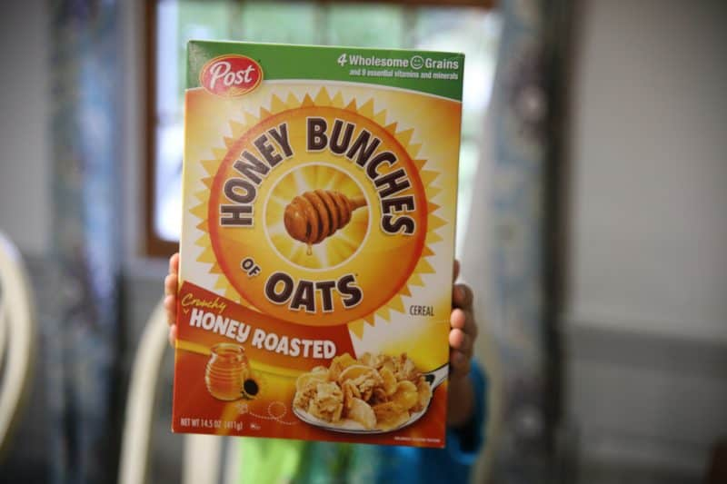 honey bunches of oats box