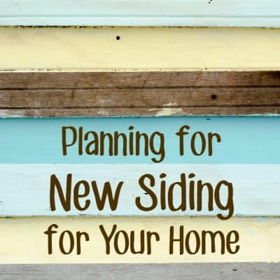 Planning for New Siding for Your Home #HouseExperts