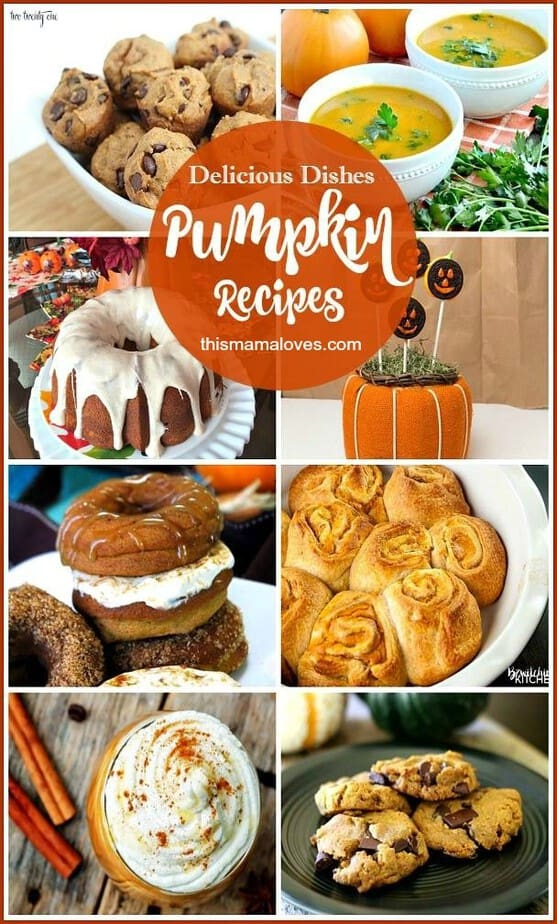 Delicious Dishes Recipe Party: Favorite Pumpkin Recipes - This Mama Loves