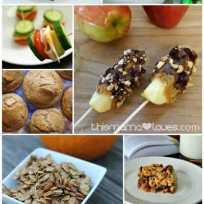 Brain Food Snacks for Middle Schoolers #BigFatNotebooks