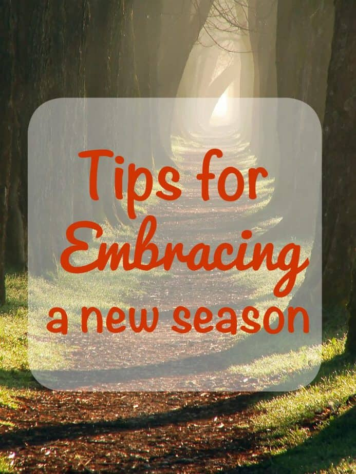 Tips for Embracing a New Season from This Mama Loves