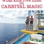 What kids love most about a cruise on Carnival Magic cruise ship- This Mama Loves
