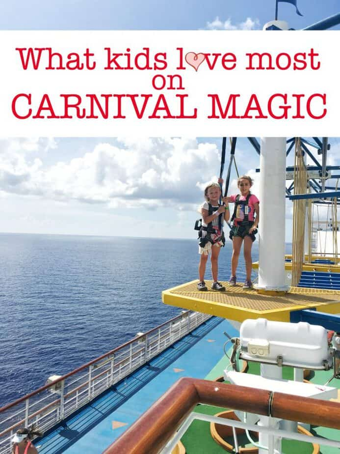 What Kids Love About A Cruise On Carnival Magic This