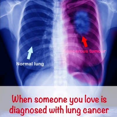 When someone you love has lung cancer