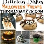 Delicious Dishes Halloween Treats - This Mama Loves