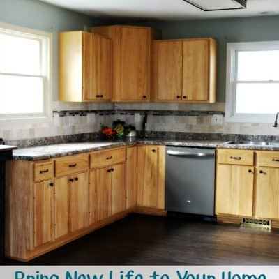 Bring New Life to Your Home with a Kitchen Remodel #HouseExperts