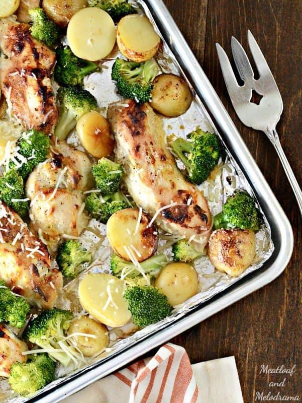 sheet-pan-honey-mustard-chicken-dinner-veggies