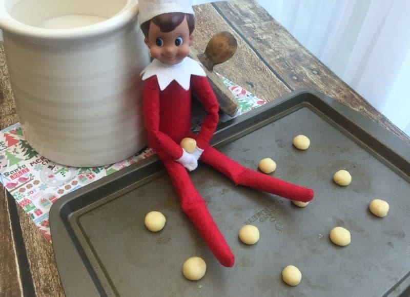 elf on the shelf elf size cookies
