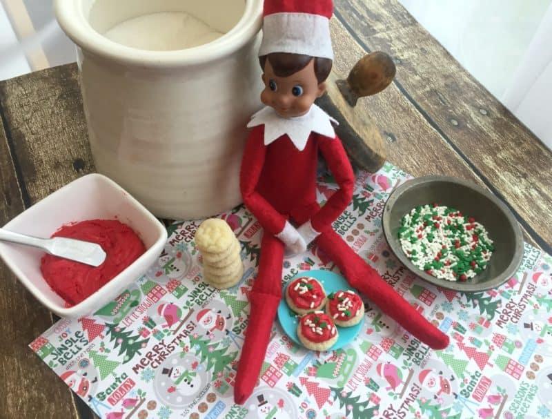 elf size cookies