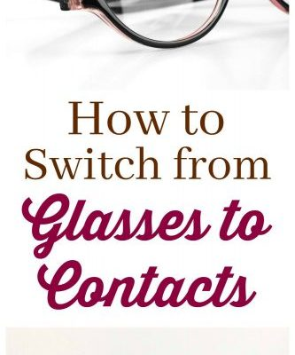 How to Switch from Glasses to Contacts #ContactsMadeEasy