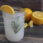 citrus rosemary water