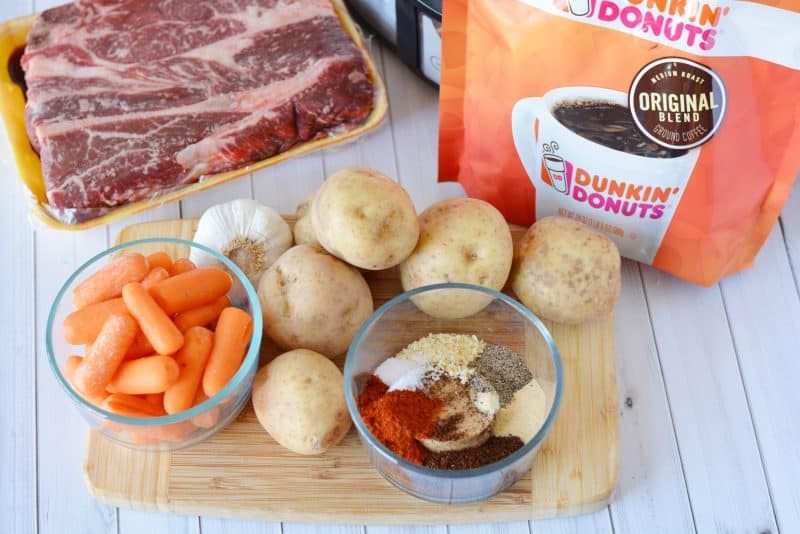 Slow Cooker Coffee Rubbed Roast