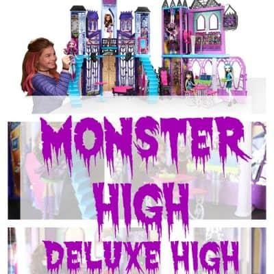 Monster High Deluxe High School #WelcomeHomeMonsters