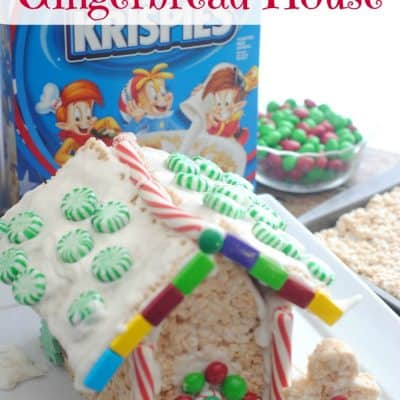 Rice Krispies® Treat Gingerbread House
