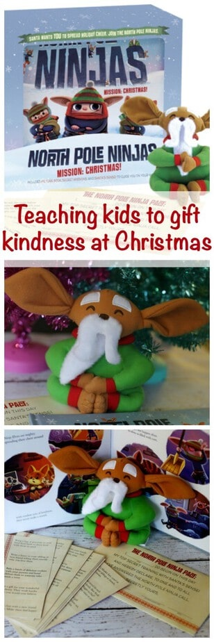 Teaching Kids to Gift Kindness at Christmas
