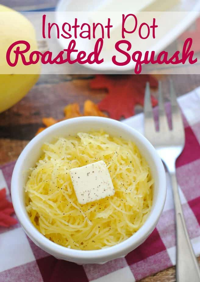 Thanksgiving Side Dish Idea Instant Pot Roasted Squash Recipe