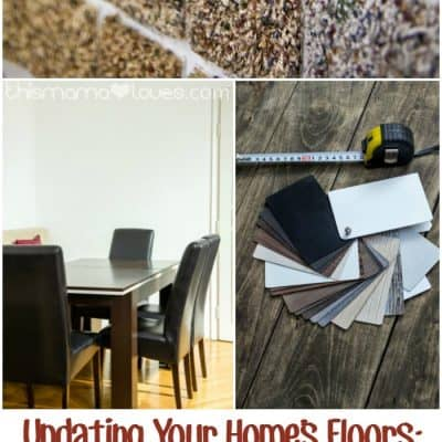Updating Your Home's Floors: Where the Biggest Memories and Messes are Made #HouseExperts