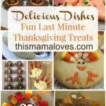 Thanksgiving Treats recipes and recipe party