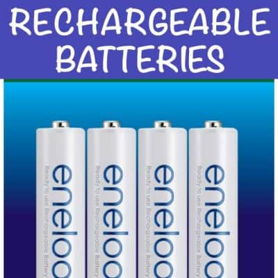 5 Reasons to Switch to Rechargeable Batteries PLUS enter to win big!