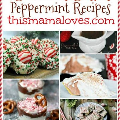 Delicious Dishes Recipe Party: Peppermint Favorites