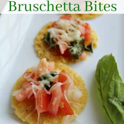 Easy New Year's Appetizer: Tuscan Bruschetta Bites