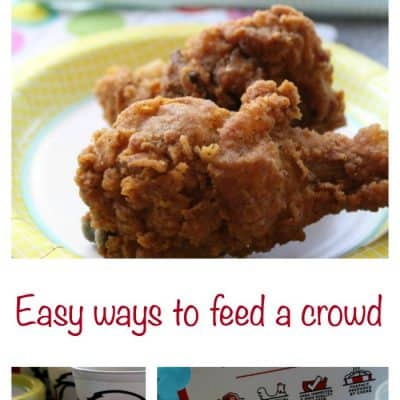 Easy ways to feed a crowd with KFC $10 Chicken Share Buckets plus $200 #Giveaway