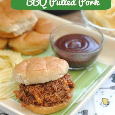 BBQ Instant Pot Pulled Pork Recipe