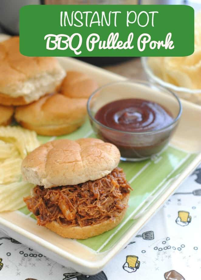 Instant Pot Pulled Pork Recipe from This Mama Loves