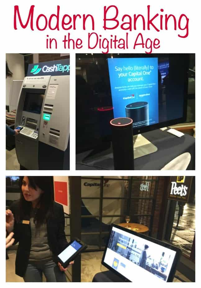 Modern Banking in the Digital Age- banking is reimagined with coffee shops and cafes staffed with bank employees to help with financial needs