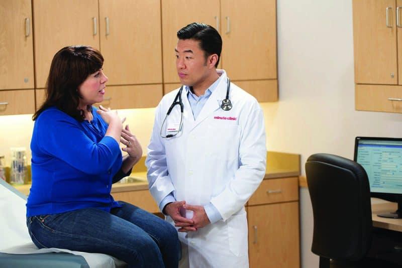 minute clinic male practicioner